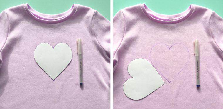 Sashiko heart project