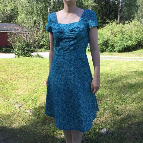 Lisette for Butterick B6321 dress
