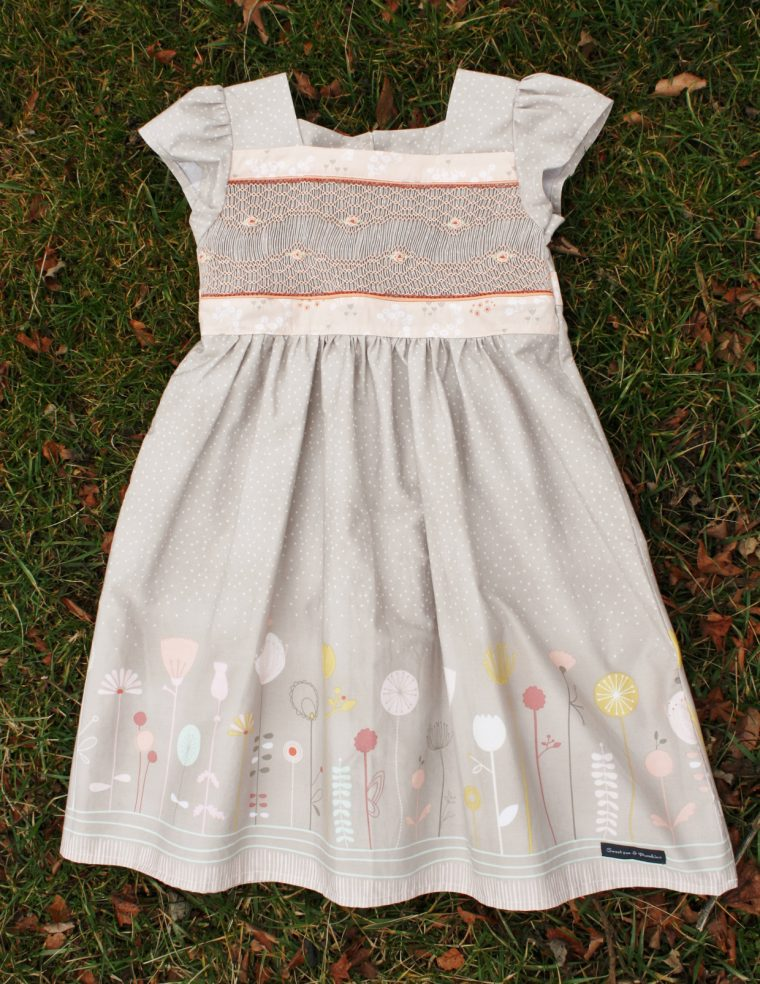 Oliver + S Garden Party Dress with smocking