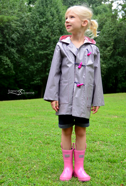 Oliver + S School Days rain coat