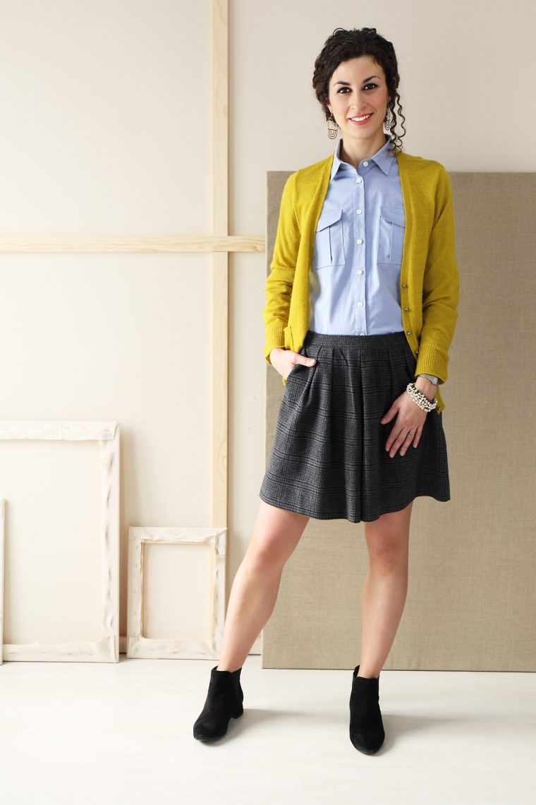 Liesl + Co SoHo Shorts + Skirt fabric ideas: wool shorts