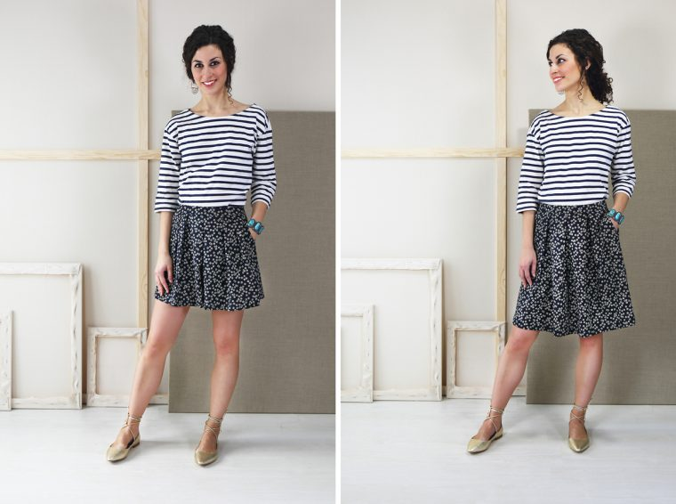 Liesl + Co SoHo Shorts + Skirt fabric ideas: canvas examples