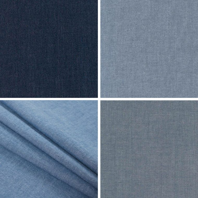 Classic Shirt fabric ideas: denim and chambray