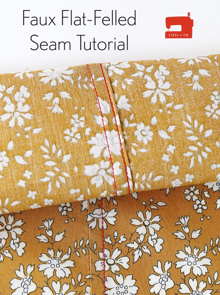 Faux Flat-Felled Seam Tutorial