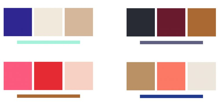 Core wardrobe color palette ideas.