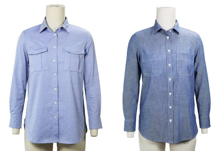 Liesl + Co Classic Shirt sewing pattern both views