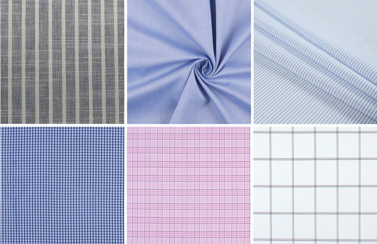 Classic Shirt fabric ideas: cotton shirtings