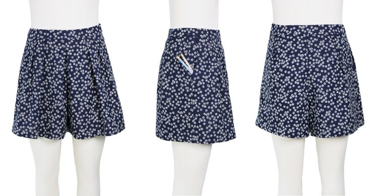 Liesl + Co SoHo Shorts from all angles