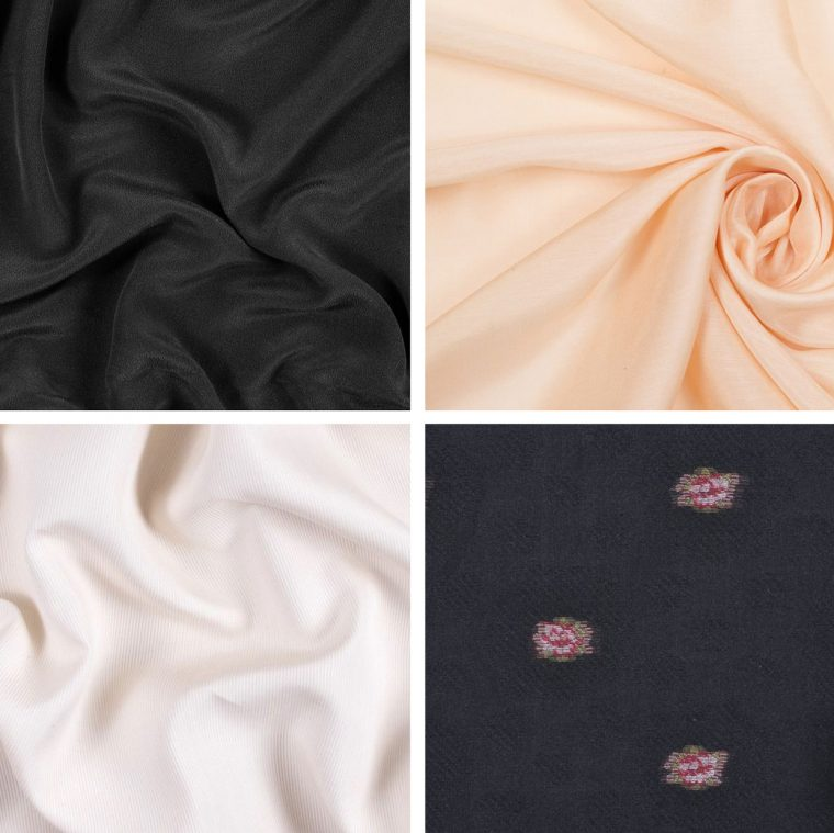 Classic Shirt fabric ideas: silk fabrics