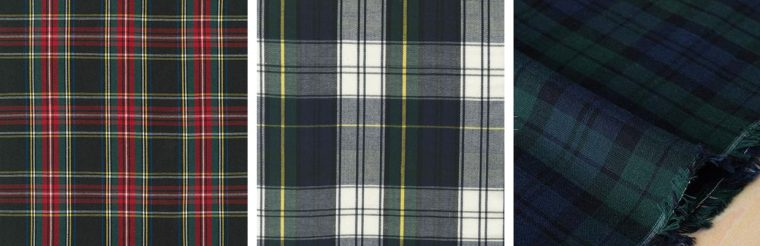 Classic Shirt fabric ideas: tartan and plaid