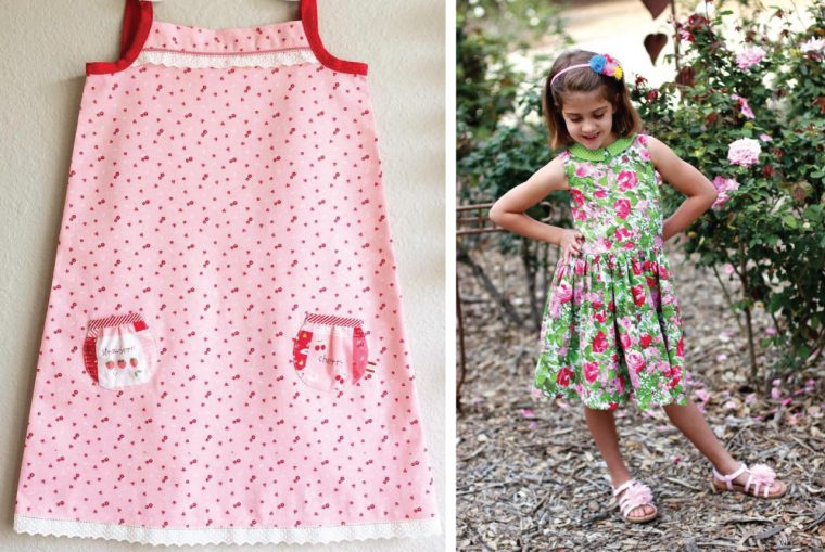 Oliver + S Popover Sundress and Fairy Tale Dress
