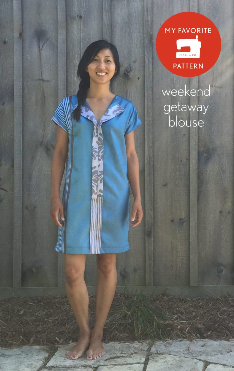 Liesl + Co. Weekend Getaway Blouse + Dress