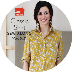 Liesl + Co. Classic Shirt Sew Along Badge