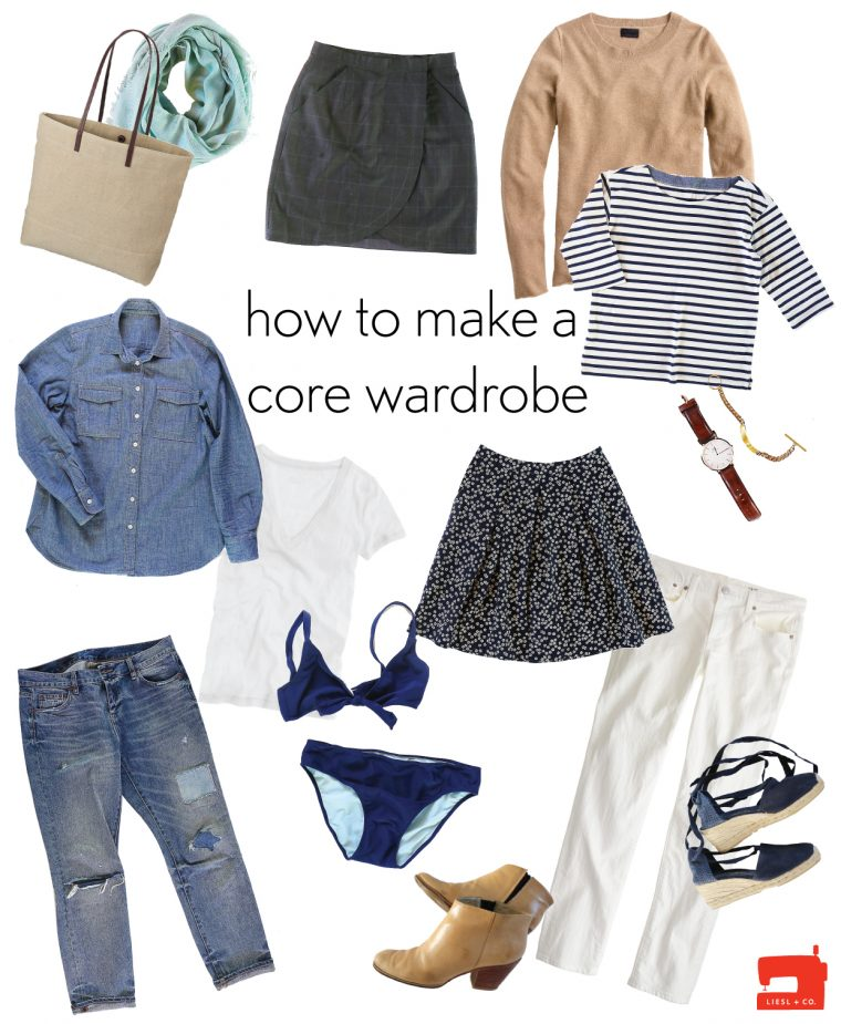 How to make a core wardrobe