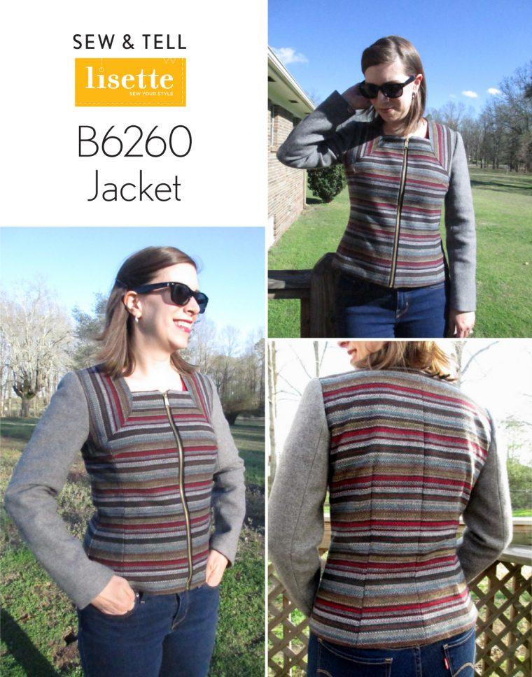 Lisette for Butterick B6260 Jacket