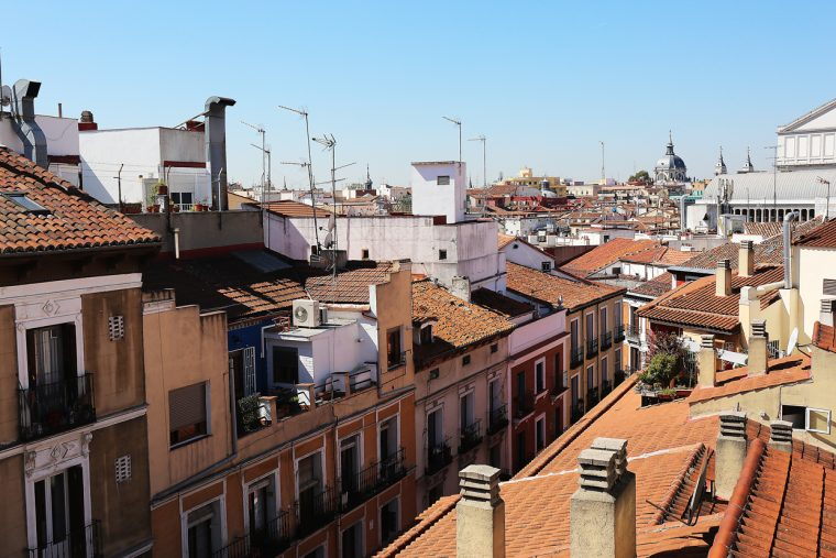 Madrid, as seen from our roof