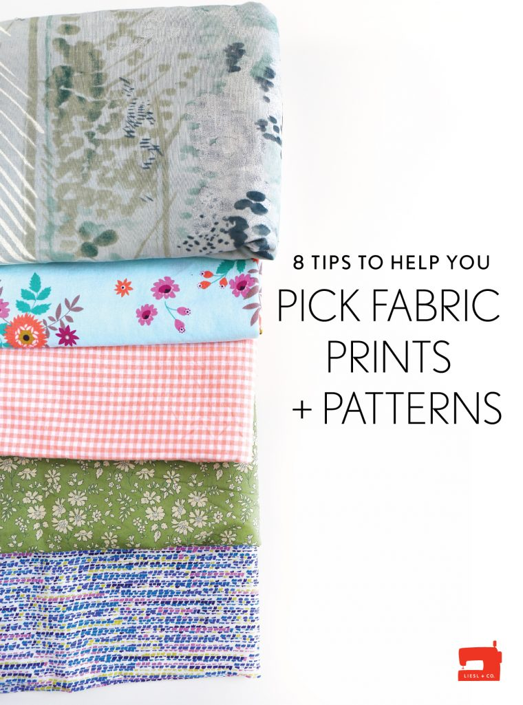 8 tips to hel you pick fabric prints + patterns