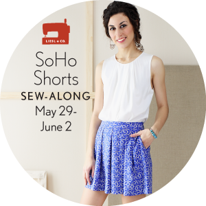 SoHo Shorts Sew Along Badge