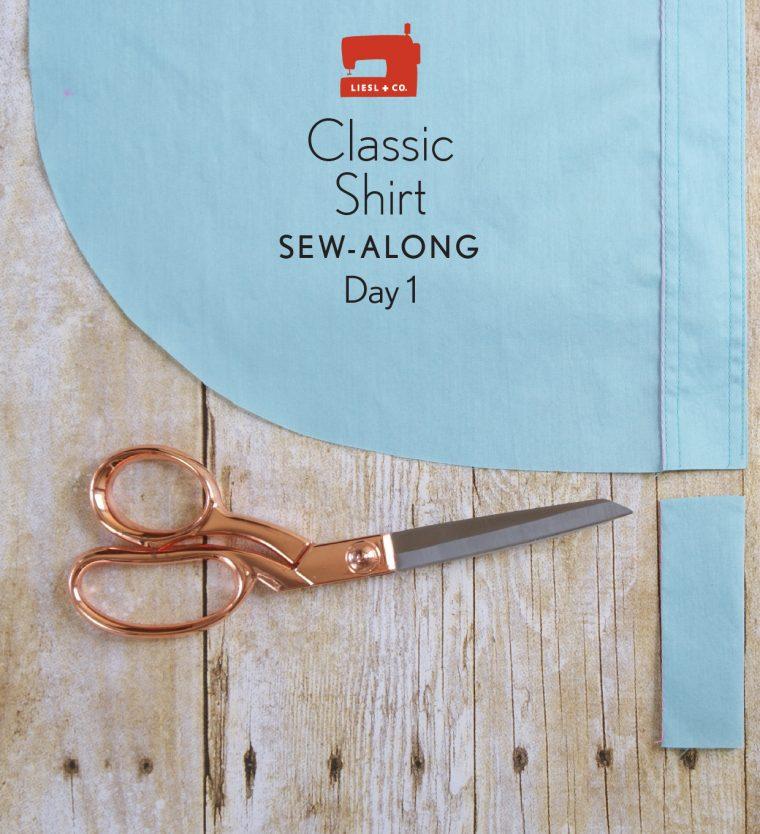 Lisel + Co. Classic Shirt sew-along