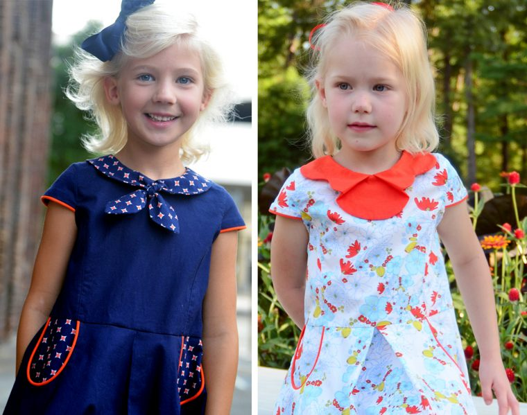 Oliver + S Building Block Dresses