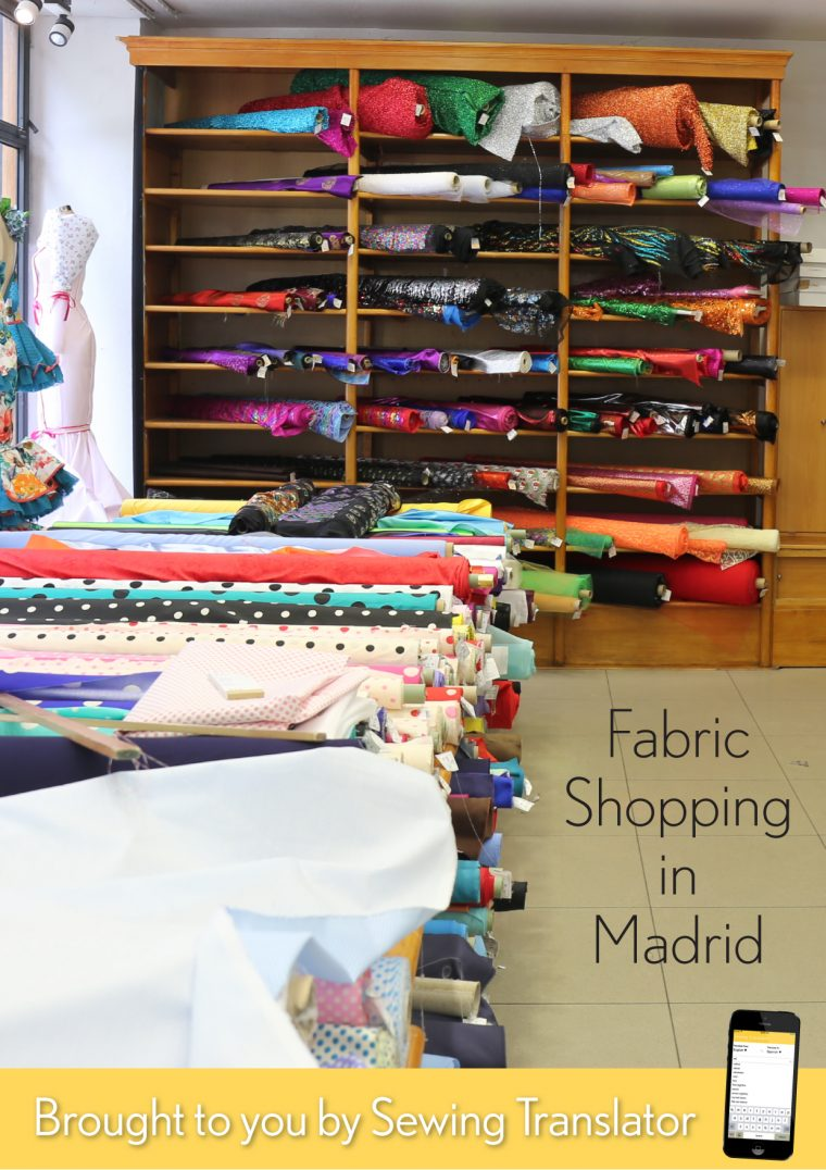 fabric shopping in Madrid: a guide