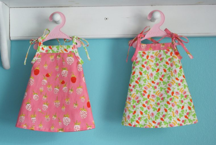 "Oliver + S Popover Sundresses for 18"" dolls"