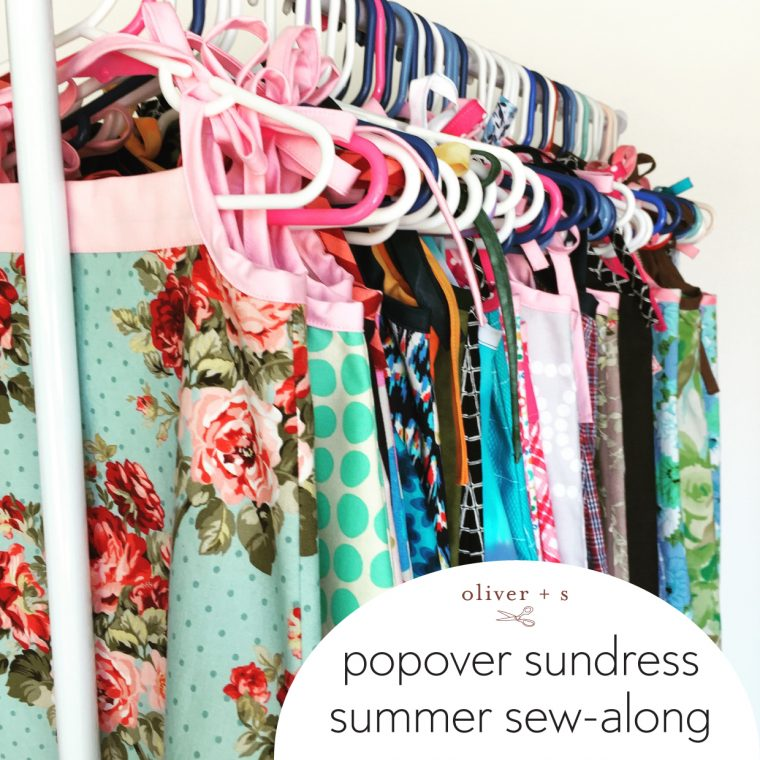 Oliver + S Popover Sundress summer sew-along