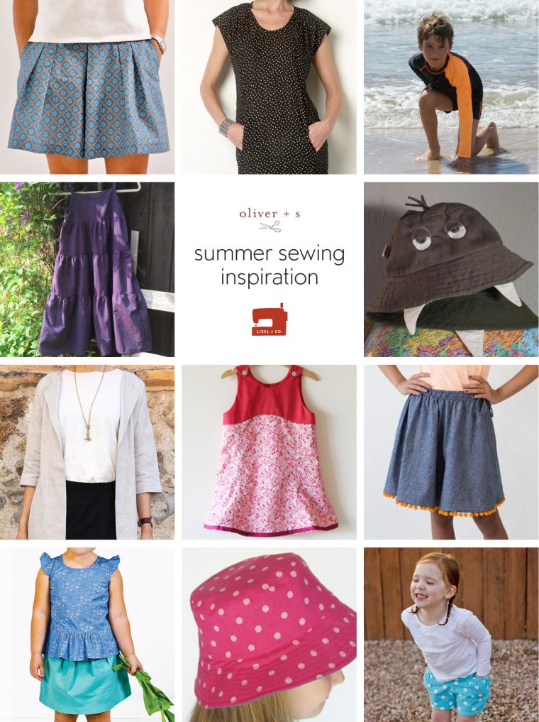 Summer sewing inspiration