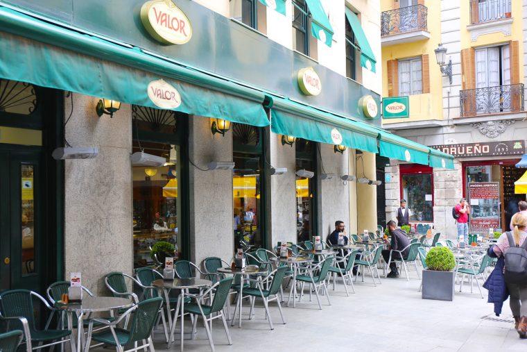 Fabric shopping in Madrid: Chocolateria Valor in Madrid