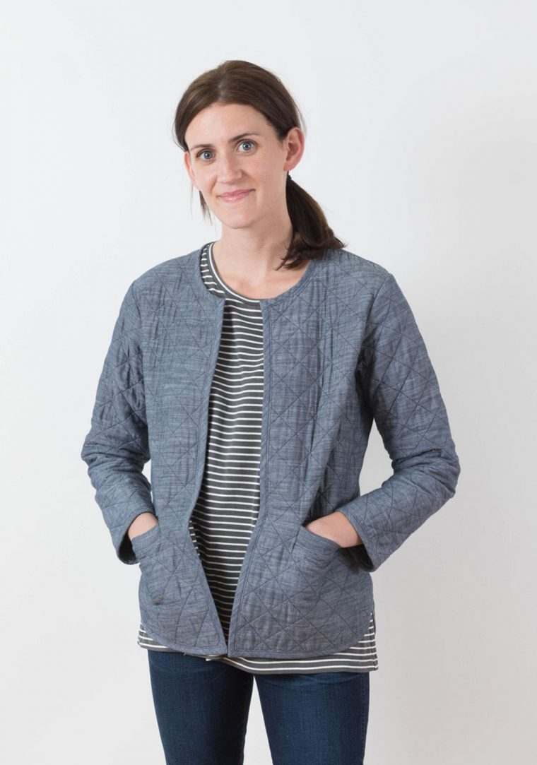 Tamarack Jacket pattern by Grainline Studio