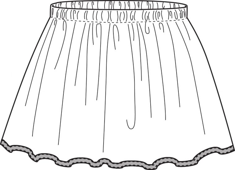 Oliver + S Lazy Days Skirt