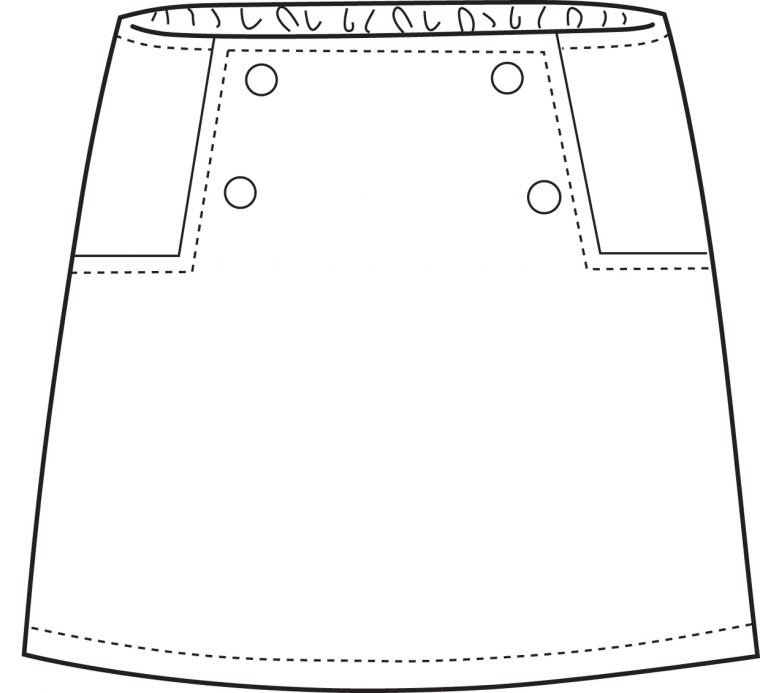 Oliver + S Sailboat Skirt