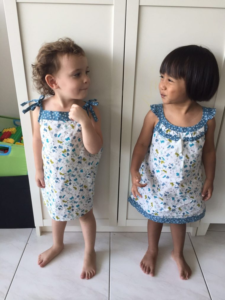 Oliver + S Popover Sundress and Badminton Dress