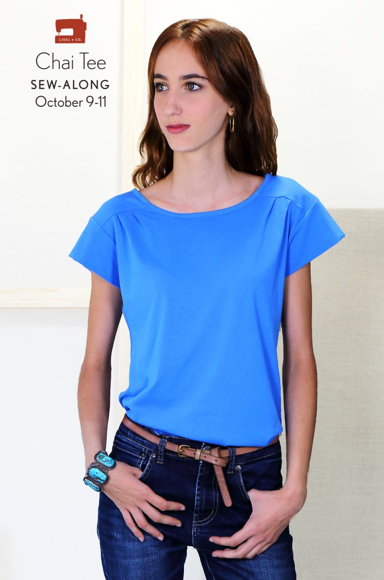 Liesl + Co. Chai Tee sew-along