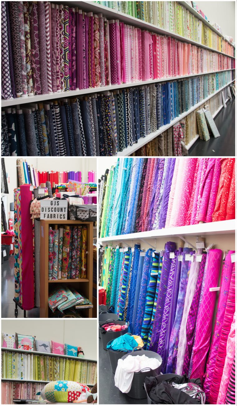 Fabric shopping in Melbourne