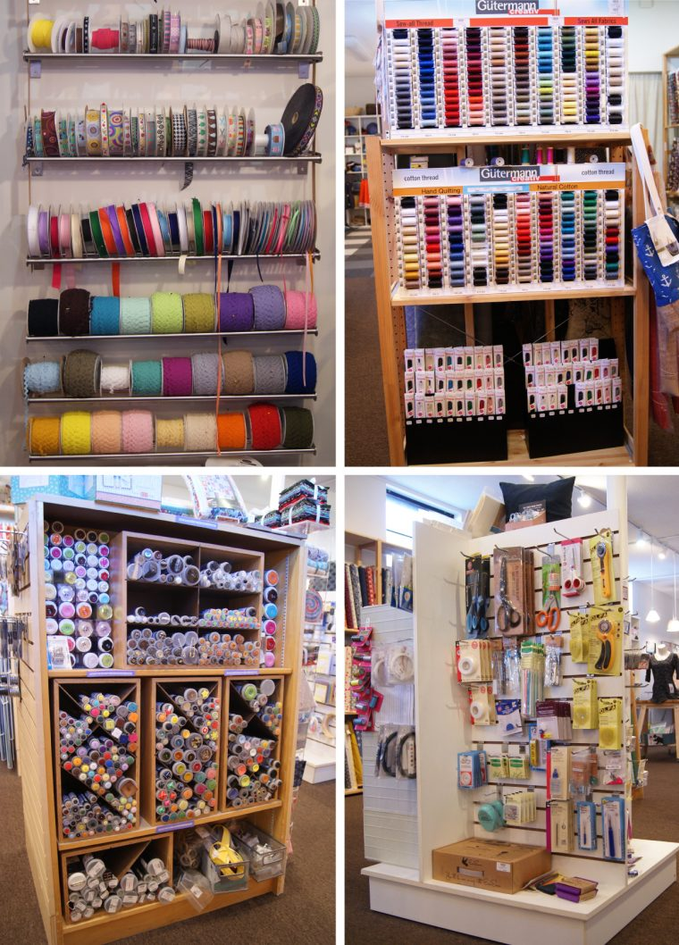 Sewing notions at Knit & Bolt
