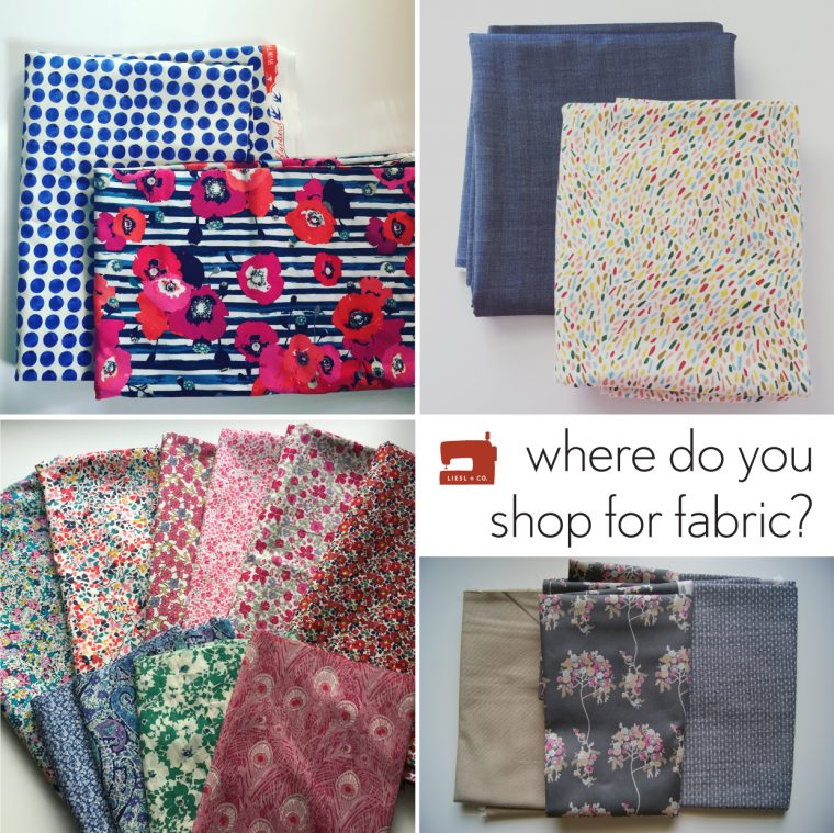 Where do you shop for fabric?