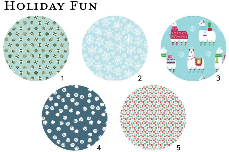 Fun holiday fabrics