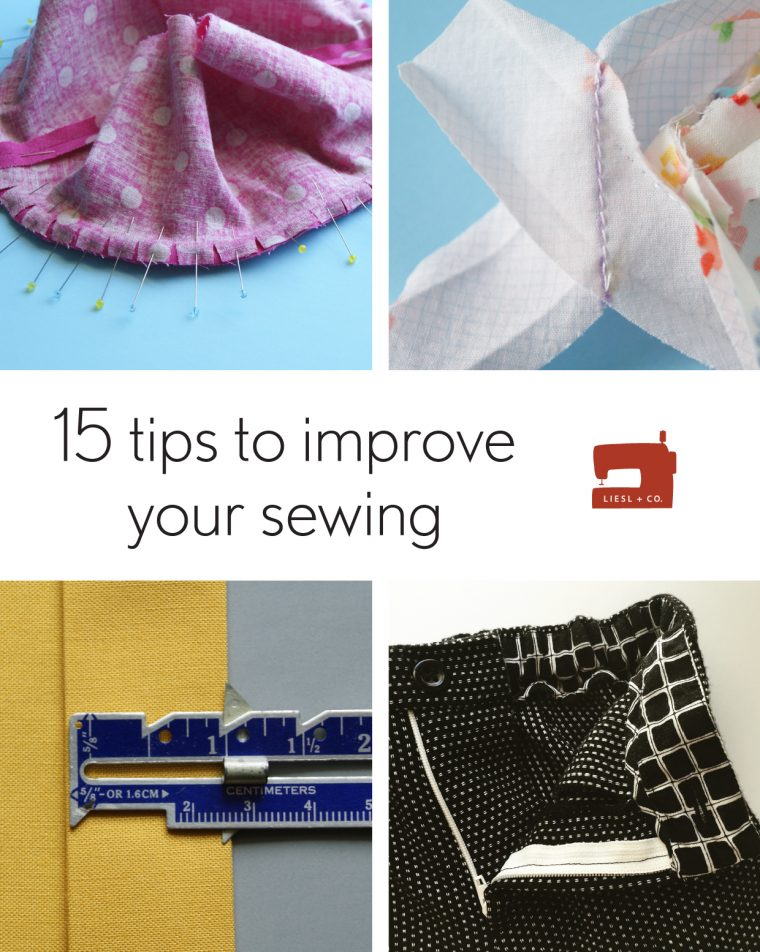 15 tips to improve your sewing
