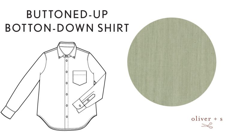 Oliver + S Buttoned-up Botton-down Shirt