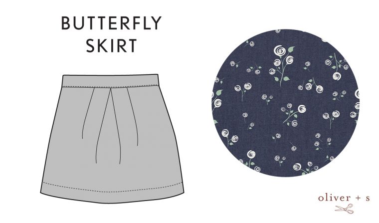 Oliver + S Butterfly Skirt