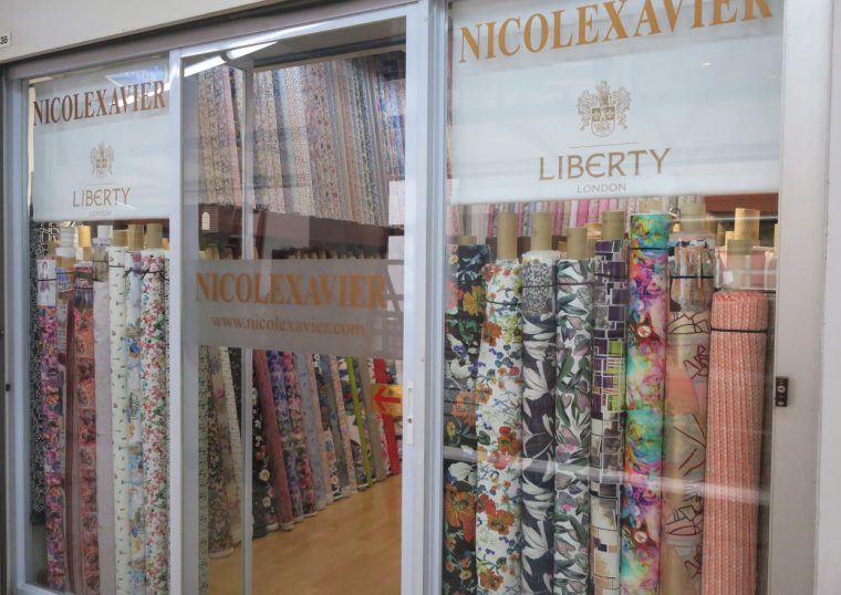 Fabric shopping in Singapore