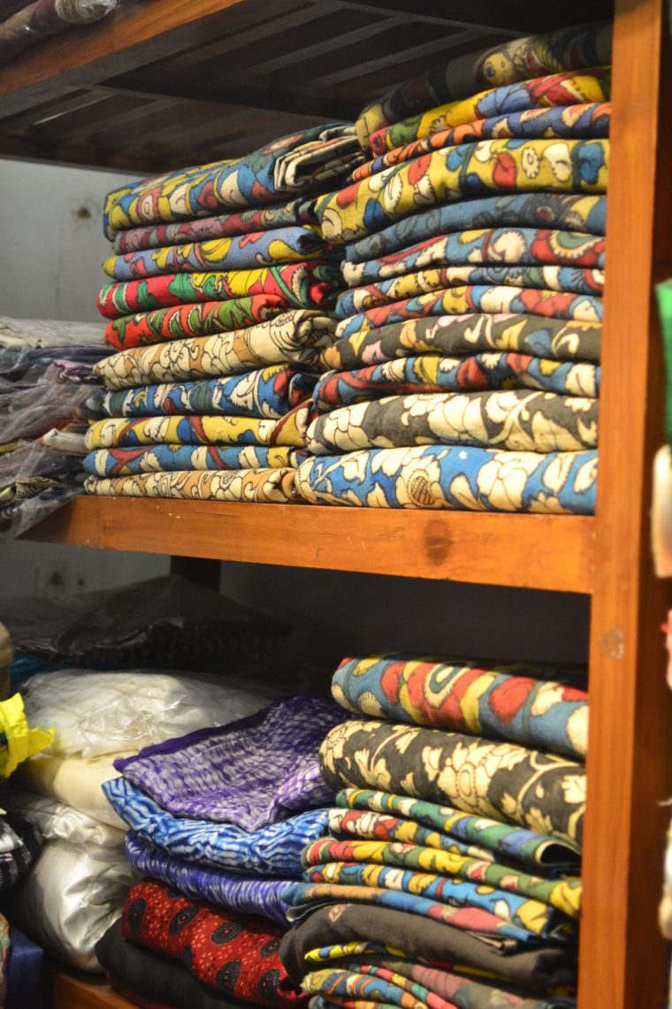 New Delhi fabric shopping