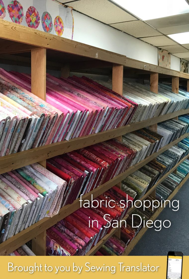 San Diego fabric shopping