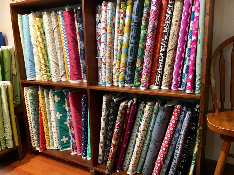 Portland fabric shopping