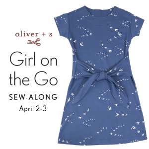 Oliver + S Girl on the Go Dress + Top sew-along badge