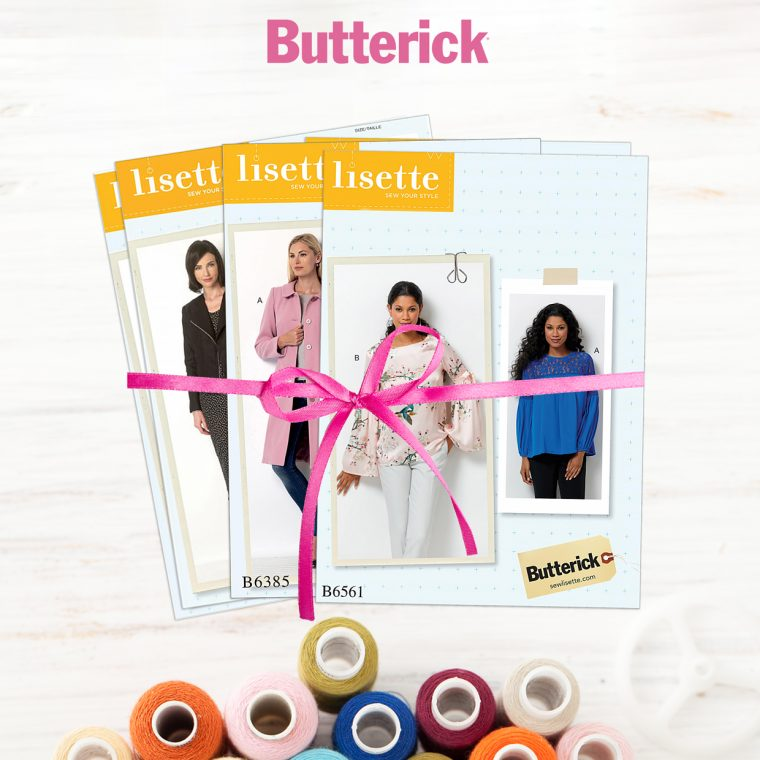 Lisette for Butterick patterns for giveaway