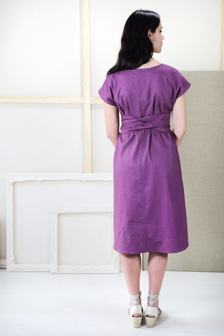 Introducing the Liesl + Co Terrace Dress sewing pattern.