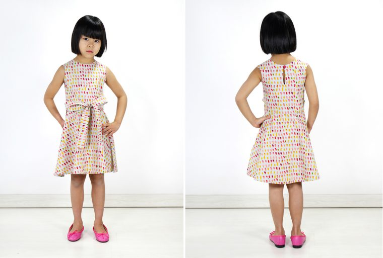 Introducing the Oliver + S Cartwheel Wrap Dress sewing pattern