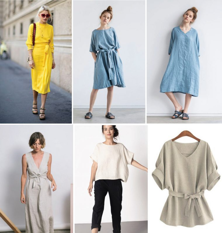 Styling ideas for the Liesl + Co Terrace Dress sewing pattern.